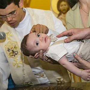 Batizado do Pedro