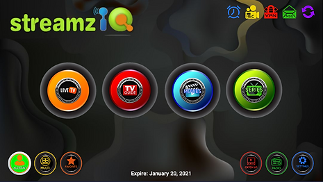 2. StreamzIQ App Homepage.PNG