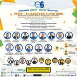 The 6th PJCI's Anniversary| RE-Energy Transition PEKIK  -  NUSANTARA SUPER GRID