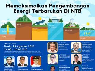 """""""Memaksimalkan Pengembangan Energi Terbarukan di NTB"""""""