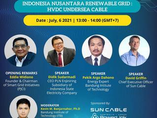 """ASEAN Energy & Utility Digital Week is coming with theme:""""Nusantara Renewable Grid: HVDC Undersea C"""