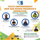 SPECIAL PRESENT BY PJCI 6TH ANNIVERSARY: Youth Empowerment: New and Renew Indonesia's Generation