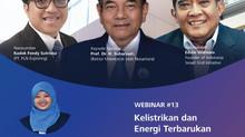 Mari ikuti Webinar seru!KELISTRIKAN DAN ENERGI TERBARUKAN!