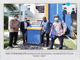 PENERAPAN SMART GRID DI INDONESIA dan PENANDATANGANAN NOTA KESEPAHAMAN DENGAN UNIVERSITAS TEKNOLOGI