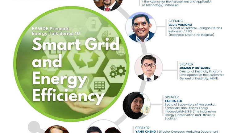 ENERGY TALK 10: Smart Grid And Energy Efficiency