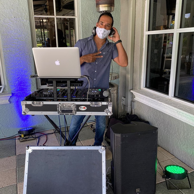Resident DJ for Sunday Brunch and Beats at Salute Market restaurant