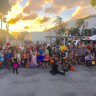 Halloween Trick or Trunk for St Vincent of Ferrer church