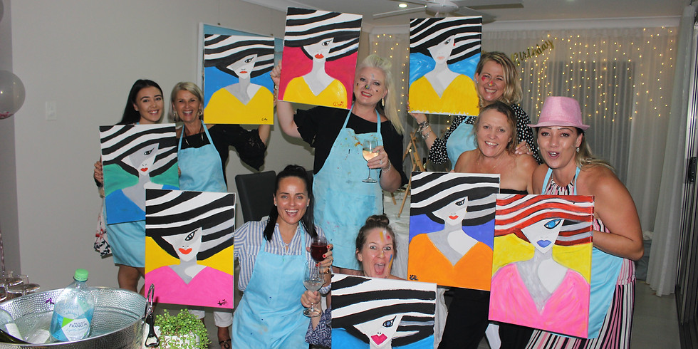The Florence Paint Party