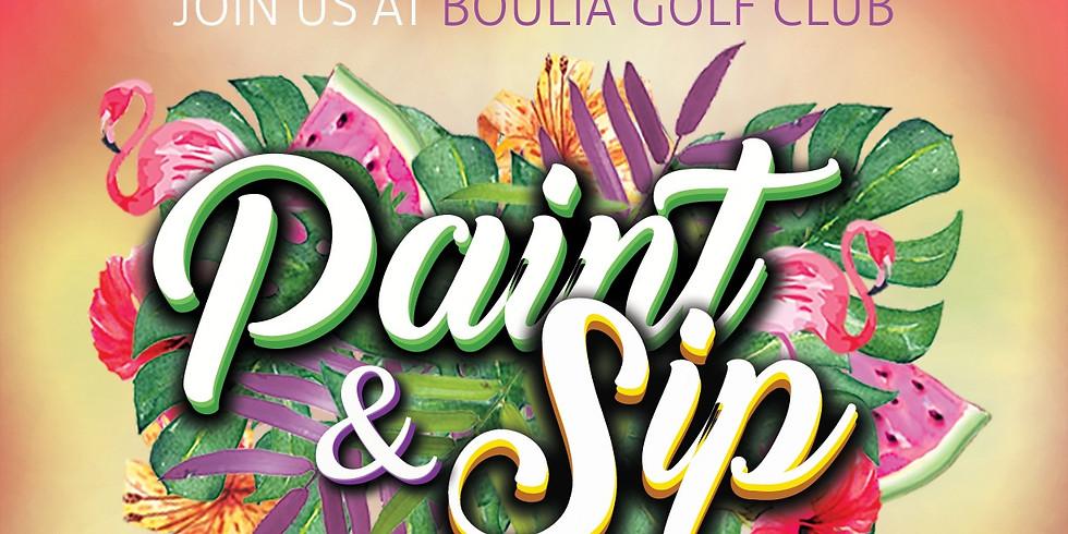 Boulia Paint & Sip