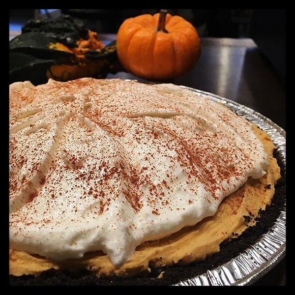 Gelato spiced pumpkin pies! Order yours
