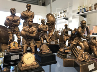 Resin Rugby Figures / Awards