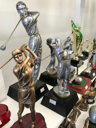 Golf Figures / Awards