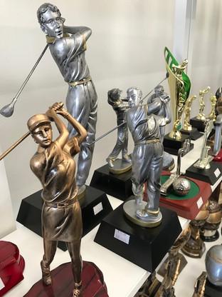 Golf Figures / Awards
