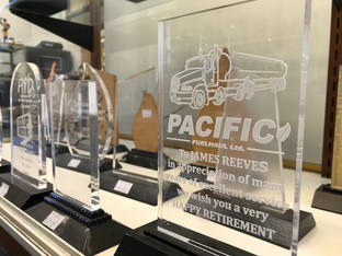 Laser Engraved Acrylic Awards