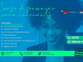 ESA promove curso de Formação para Iniciantes com membros da diretoria da OAB Paraná