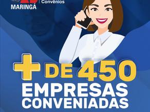 Empresas conveniadas à OAB Maringá. Baixe lista completa