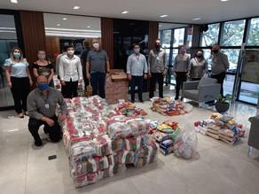 Campanhas da OAB Maringá arrecadam toneladas de donativos em favor de famílias carentes