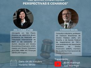 Reforma Tributária é tema de debate nesta segunda, 04/10, com Everardo Maciel, ex-secretário da RF