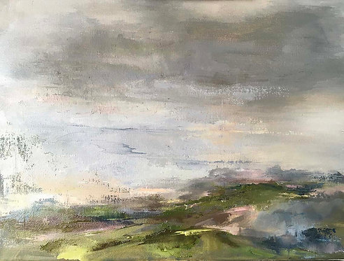 Morning Light Saddlescombe by Kate Harries