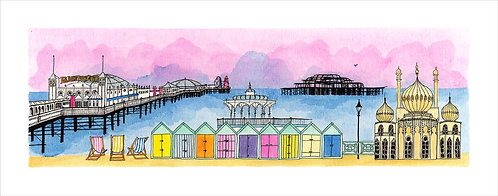 Greetings Card Day Tripper by Clare Harms