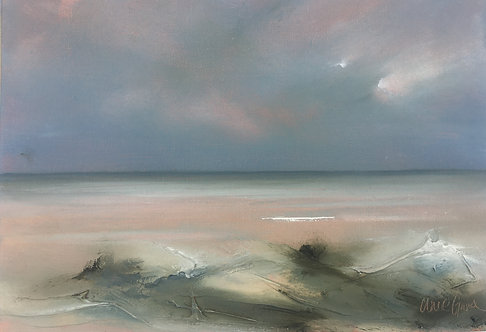 Winter Seas, Shoreham by Claire Grose