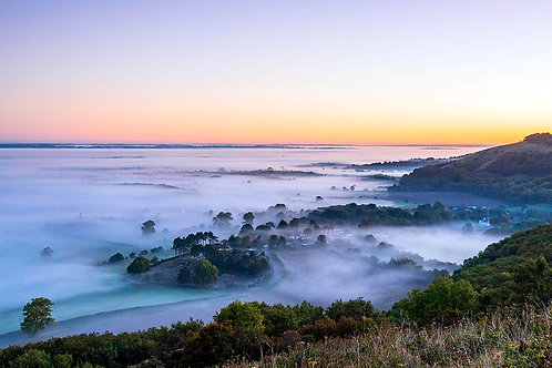 Poynings Morning by Joff Harms