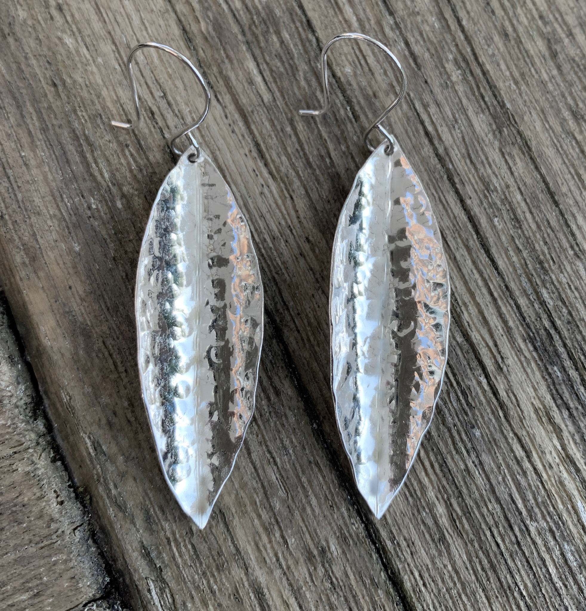 1 Leaf Earrings