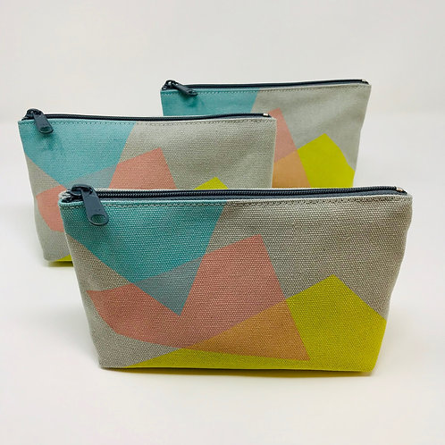 Abstract Print Make-Up Bag by Jo Saunders