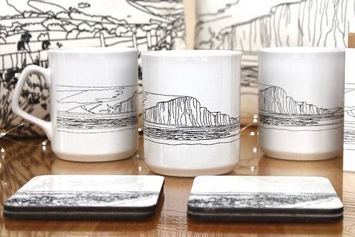 Seven Sisters Mug by Emily Grocott