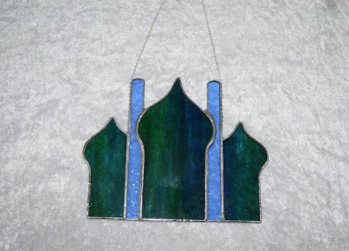 Stained Glass Brighton Pavilion by Pam Holmes