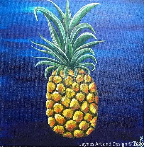 Pineapple No.2 by Jayne Crow