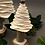 Thumbnail: Small Porcelain Christmas Tree by Kate McMinnies