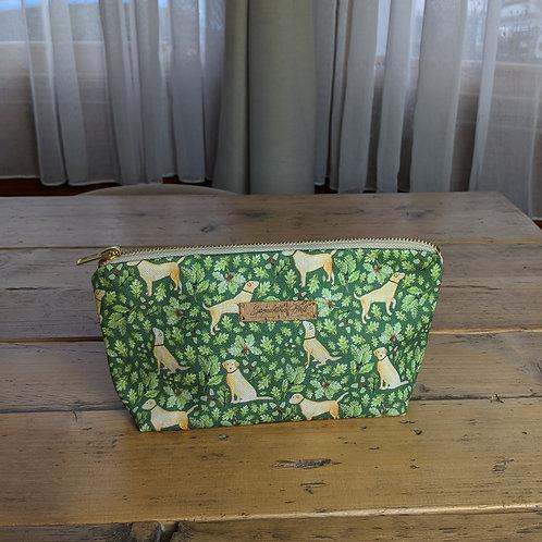 'Golden Labrador' Cosmetic Bag by Samantha Hall