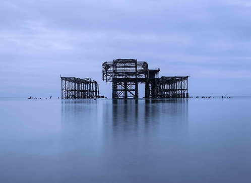 West Pier Calm by Joff Harms