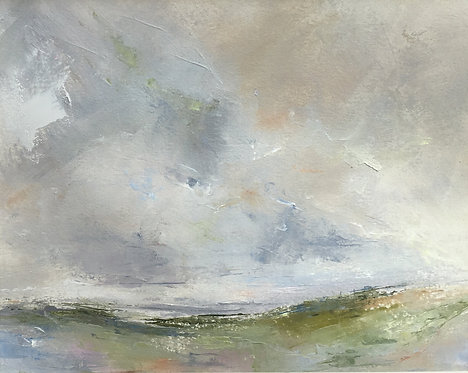 Across the Downs - Early Summer by Kate Harries