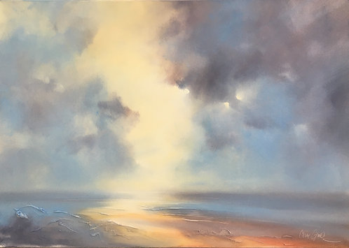 Light Breaking Through by Claire Grose
