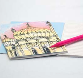 'Golden Pavilion' Notebook by Clare Harms