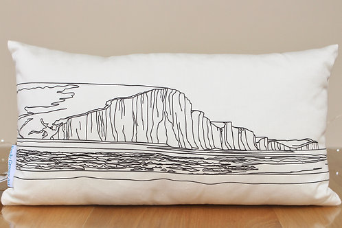 Seven Sisters Cushion by Emily Grocott