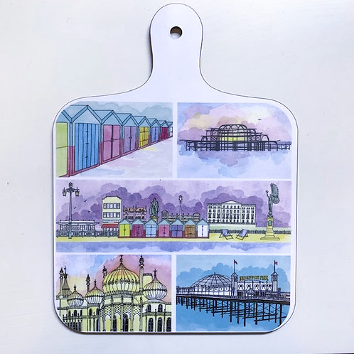 'Brighton' Chopping Board by Clare Harms