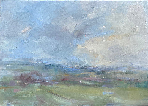 Downland Haze by Kate Harries
