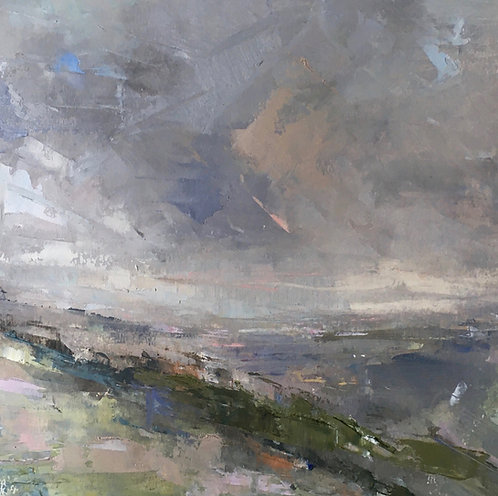 Clearing Skies - Skylarks Singing by Kate Harries