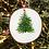 Thumbnail: Christmas tree wood slice by Emily Grocott