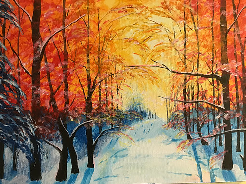 Colours of Winter by Jayne Crow