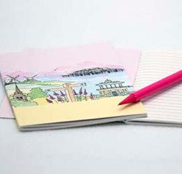 'Downs to the Sea' Notebook by Clare Harms