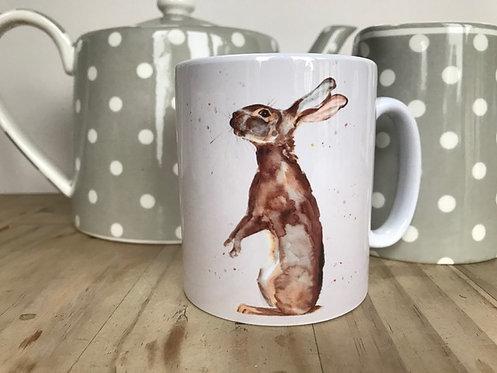 'Hare' Mug by Emma Gillo