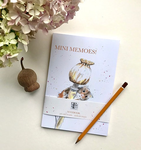 'Mini Memoes' Notebook  by Emma Gillo