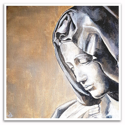 Pieta III by Duncan Allan