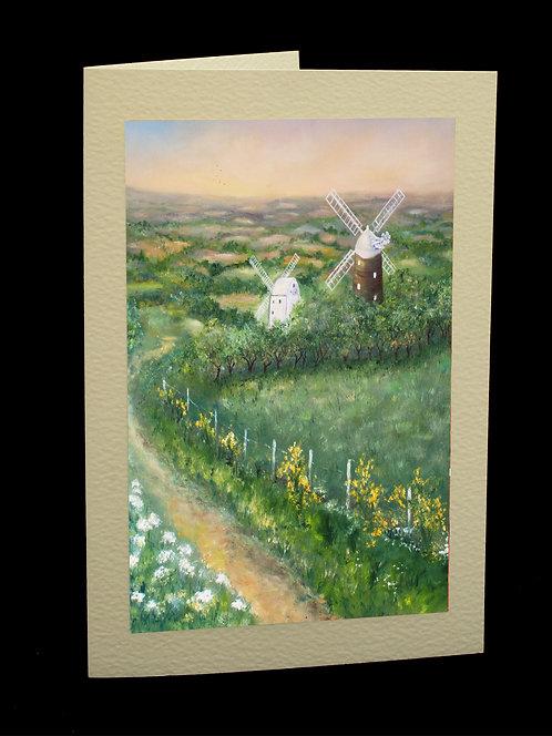Jack & Jill Greetings Card by Serena Sussex