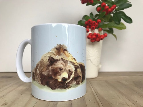 'Grizzly Bear' Mug by Emma Gillo