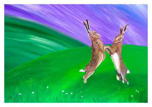 Mad March Hares by Julie McDonald